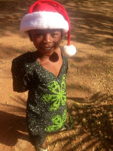 Anike in Christmas spirit!