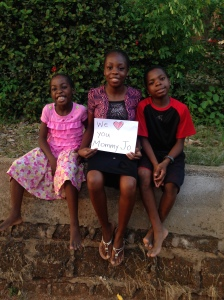 Kids Message to Mommy Jo
